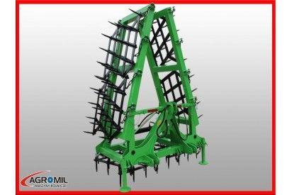 Brona 6 polowa ciężka hydraulicznie składana