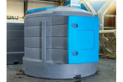 Zbiornik do paliwa 5000 l X-TANK licznik mechaniczny