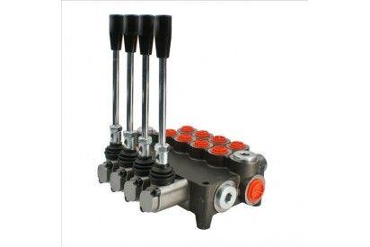 Rozdzielacz hydrauliczny 4 sekcyjny 80L