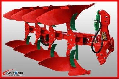 Pług obracalny LEKKI 4-skibowy (3+1)