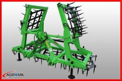 Brona 5 polowa ciężka hydraulicznie składana