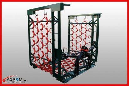 Włóka o szer. 5,0 m hydraulicznie składana