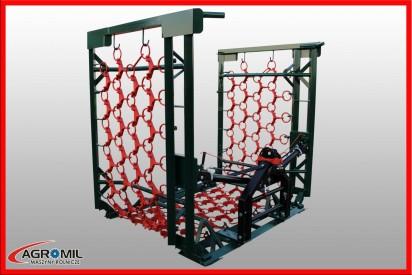 Włóka o szerokości 8,0 m hydraulicznie składana