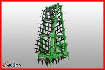 Brona 7 polowa ciężka hydraulicznie składana