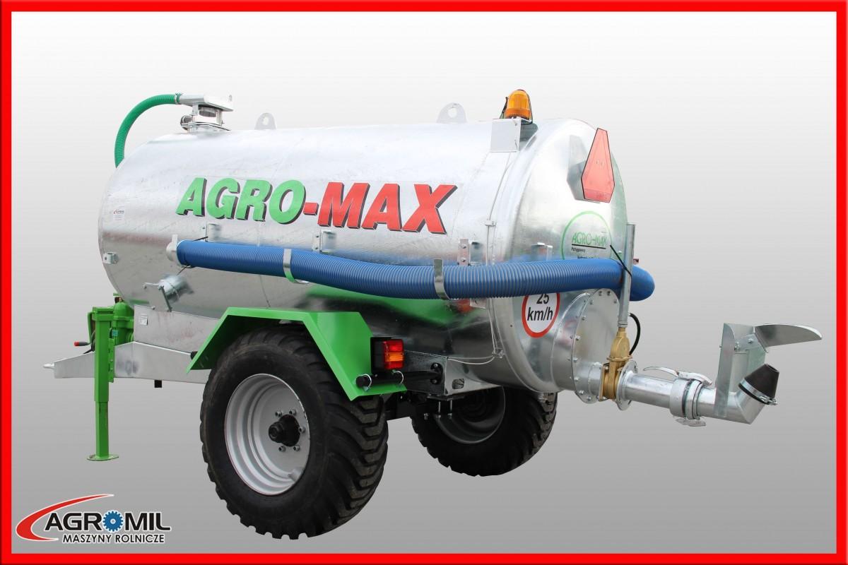 Ogromny Wóz asenizacyjny 4000-1/S - AGROMIL - Maszyny rolnicze, części do HU25