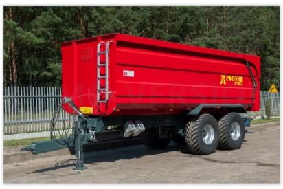 Przyczepa T669 XL ładowność 15,8t