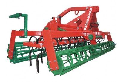 Agregat uprawowo-siewny o szerokości roboczej 3m