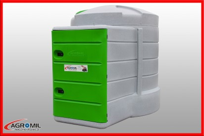 Zbiornik do paliwa 2500 l X-TANK licznik elektroniczny