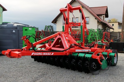 Brona talerzowa Półzawieszana AGRO-MASZ 3,0 m