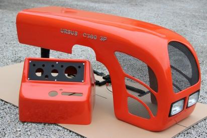 Maska do ciągnika C-360-3P 02