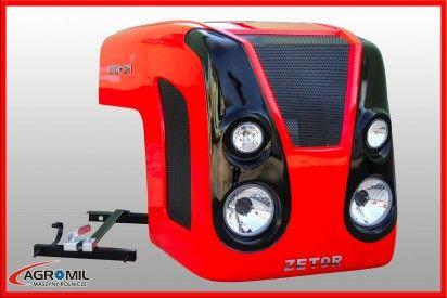 Maska do ciągnika Zetor 5211-7211