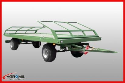 Przyczepa T 701 HP tandem ładowność 16,1t