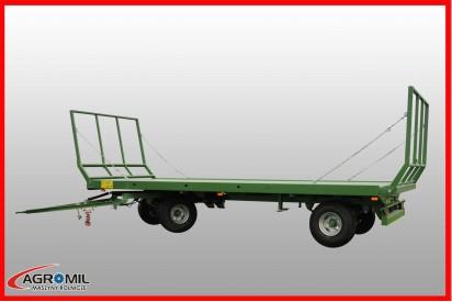 Przyczepa platformowa trzyosiowa T026 ładowność 13,72t