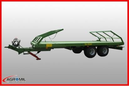 Przyczepa platformowa dwuosiowa T025M ładowność 8,98t
