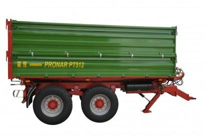 Przyczepa PT510 szerokość paletowa ładowność 10,15t