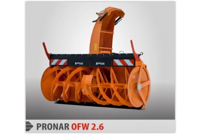 Odśnieżarka wirnikowa OW 2,4H