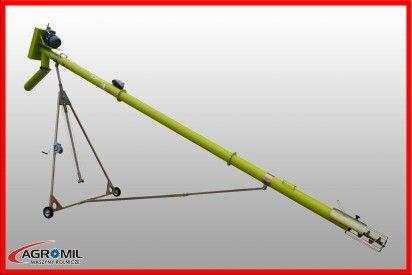 Przenośnik ślimakowy dł.10m, śr.140mm