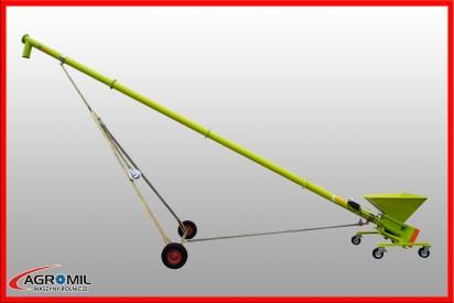 Przenośnik ślimakowy dł.6m, śr.140mm