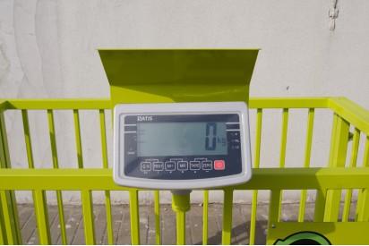 Waga inwentarzowa 600kg