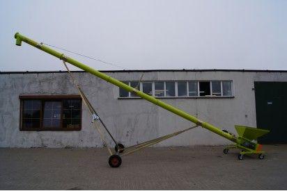 Przenośnik ślimakowy dł.12m, śr.140mm
