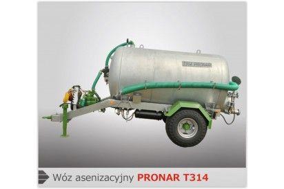Wóz asenizacyjny T314 poj. 4000 l