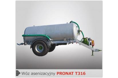 Wóz asenizacyjny T315 poj. 5000 l