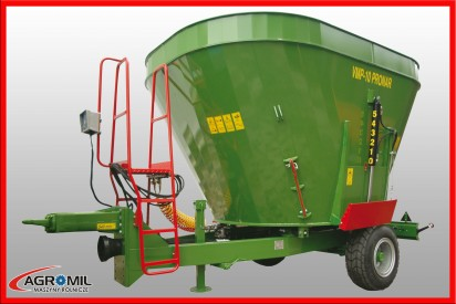 Wóz paszowy VMP-10 pojemność 10m3