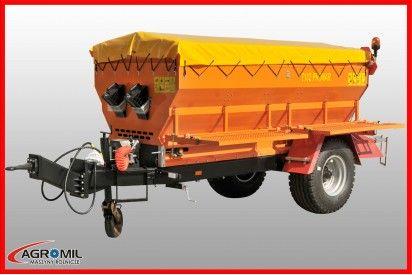 Posypywarka ciągniona  T130 ładowność 2520 kg