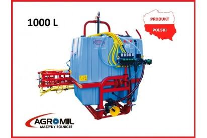 Opryskiwacz z końcówką potrójną RSM 1000/12m
