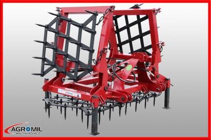 Brona 4 polowa ciężka hydraulicznie składana