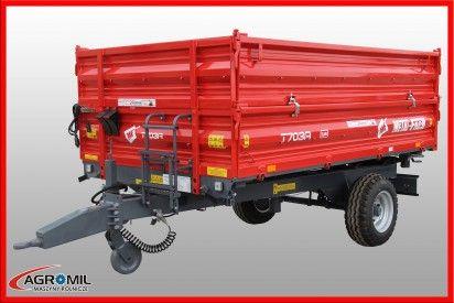 T703 3,8 ton z hamulcem