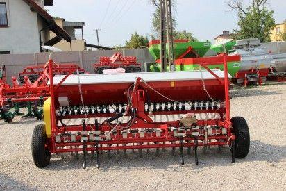 Siewnik zbożowy S107 T redlice talerzowe poj.350kg